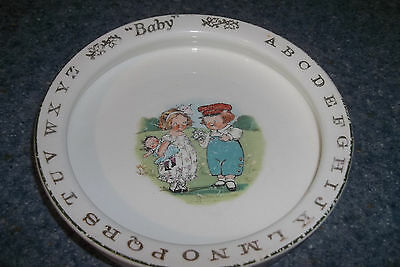 Campbell Soup Antique Alphabet Baby's Feeding Dish Drayton