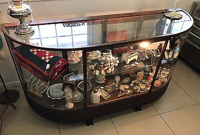 Antique General Store Display Case
