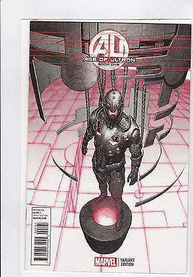 AGE of ULTRON - BOOK ONE Marvel 1:25 Granov Variant Cover #1 Very Nice