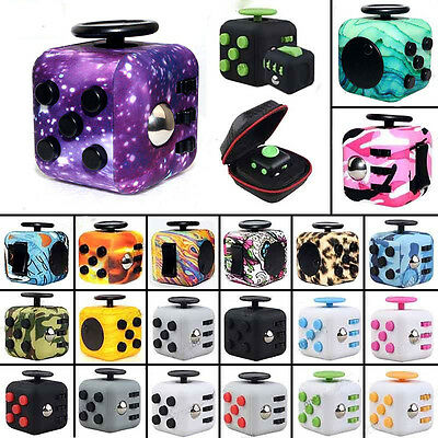 Magic Fidget Cube Anti-anxiety Adults Stress Relief Focus Kid Toy Gift New Funny