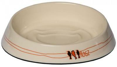 Rogz Fishcake Cat Bowl Ivory