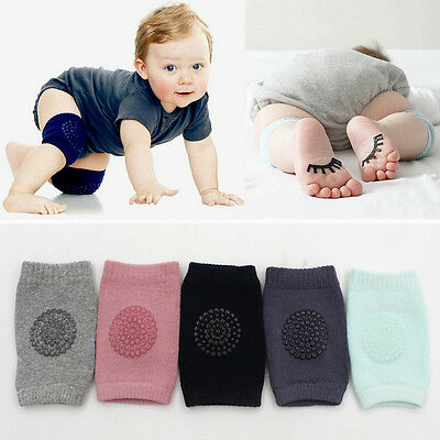 US Stock Baby Kids Safety Crawling Elbow Cushion Toddlers Knee Pads Protector