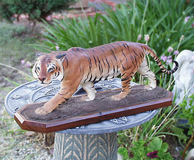 Louis Paul Jonas American Animal Sculptor Bengal Tiger Composition Figure S/n
