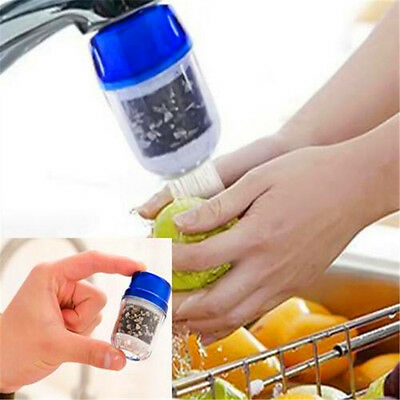 Coconut Carbon Water Purifier Filter Cleaner Cartridge Home Kitchen Faucet Tap ♫