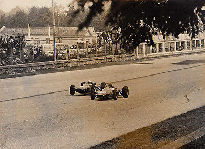 Gurney & Surtees, Both  Racing In Single Seater Racing Cars Photograph.