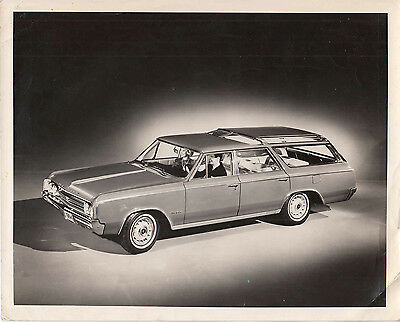 Oldsmobile Station Wagon Photograph.