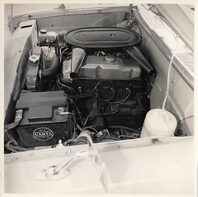 Opel Engine Compartment Photograph.