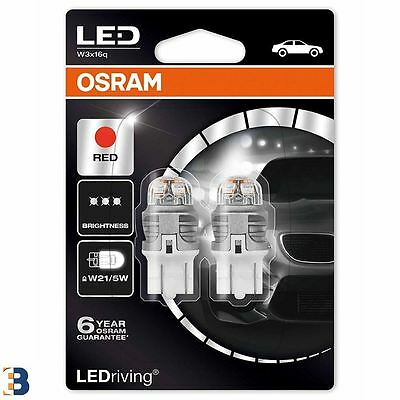 OSRAM W21/5W 580 12V LEDriving 7915R-02B Exterior LED car lighting RED Set