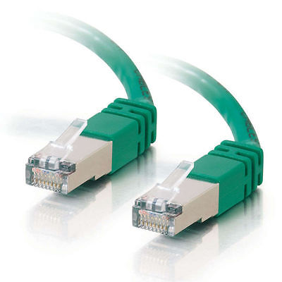 Cables to Go 2m Shielded Cat5E Snagless Patch Cable - Green