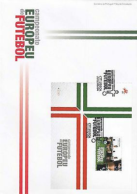 86.439/ Portugal Block FDC  2012 Fussball