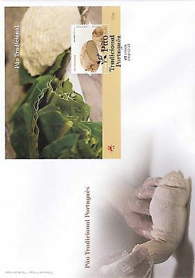 86.466/ Portugal Block FDC  2009 Genuss Brot