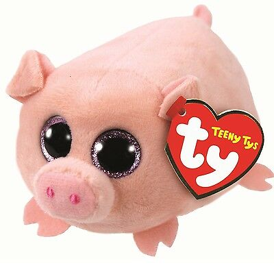 Ty Beanie Babies 41248 Teeny Tys Curly the Pig