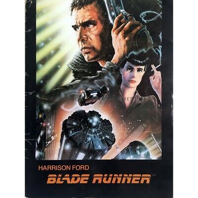 BLADE RUNNER Pochette Presskit  -  1982 - Ford, Scott, Cover Only