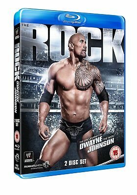 WWE: The Epic Journey Of Dwayne 'The Rock' Johnson (Blu-ray) - Official Store