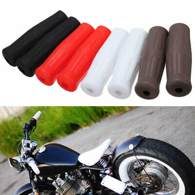 """Universal 1"""" Rubber Hand Grips Classic Vintage Coke Style Handlebar Cover 4color"""