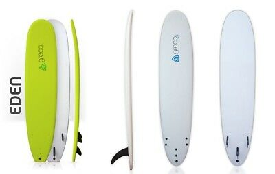 The Eden - 9ft Performance Soft Top Foam Surfboard - Greco Surfboards