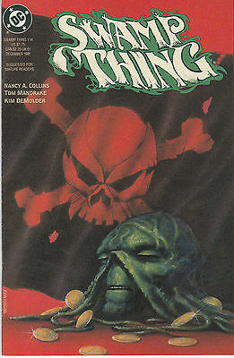 SWAMP THING 114...NM-...(Vol 2) ..1991...Nancy A Collins...Bargain!