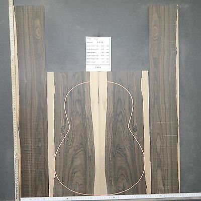 Tonewood Ziricote 7114 Tonholz Guitar Builder Luthier Acoustic BACKS SIDES SET