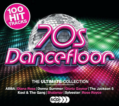 Various Artists : 70s Dancefloor CD Box Set 5 discs (2017) ***NEW***