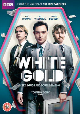 White Gold DVD (2017) Ed Westwick ***NEW***