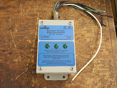 Leviton Transient Voltage Surge Suppressor 42120-Dy3 Used Lot 106
