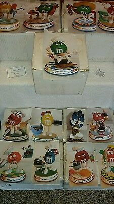 Danbury Mint M&M's Complete set of Sweet Treats Figurine Collection