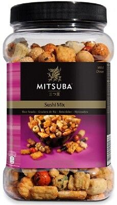 Sushi Mix Rice Snacks by Mitsuba - 650g - Light and Crispy