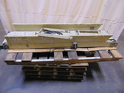 Industrial Rennco Cleated Incline Belt Conveyor 120 Volt