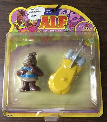 Alf Collectible Figures Rick With His Sonic Surfboard MOC 1987 COLECO
