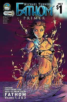 Fathom Primer  Michael Turner's  Aspen Comic Book  Combined Unlimited Shipping!