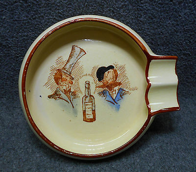 Vintage Carlton Ware Ashtray Given Our Relations... Choose Our Friends - England
