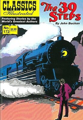 Classics Illustrated #172 - The 39 Steps - HRN 172 - October 2012, Canadian ed.