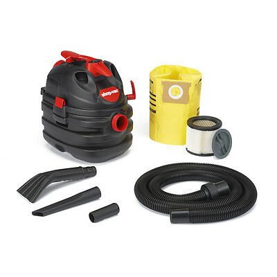 Portable Garage House Shop Vac 5 Gallon 6 Peak HP Vacuum Cleaner Blower Wet Dry