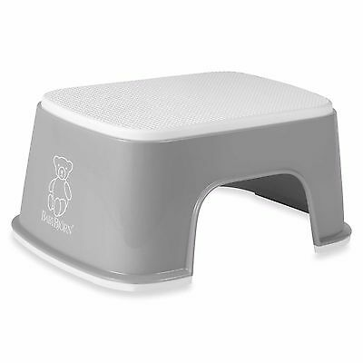 ed0b5dca7a4 Gray Kids Children Toddlers Step Stool Bathroom Sink Toilet Potty Training  Aid
