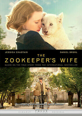 The Zookeeper's Wife [New DVD]
