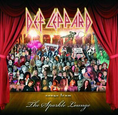 Def Leppard - Songs From The Sparkle Lounge - Def Leppard CD 8GVG The Cheap Fast