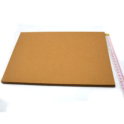 100x Brown Kraft Paper 100 x Sheets A4 250 GSM Natural Recycled- Premium Quality