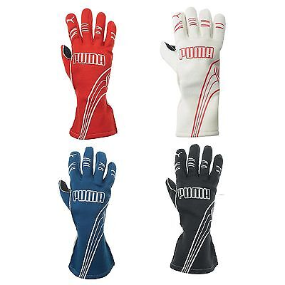 Puma Motorsport Avanti Pittards Leather Grip FIA Approved Race Driving Gloves