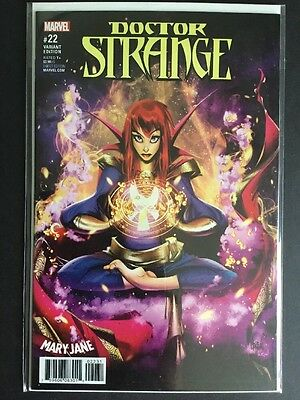 Doctor Strange #22 Herrera & Rizo Mary Jane Variant MARVEL COMICS NEW NM UNREAD