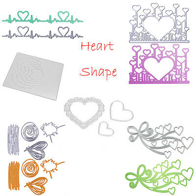 DIY Metal Cutting Dies Stencils Scrapbooking Embossing Die Cut Paper Craft Decor
