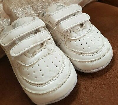 baby girls boys nike trainers shoes size 1,2,3 slight factory seconds but