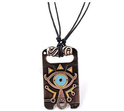 The Legend of Zelda Sheikah Slate Necklace Breath of the Wild Pendant Cosplay #