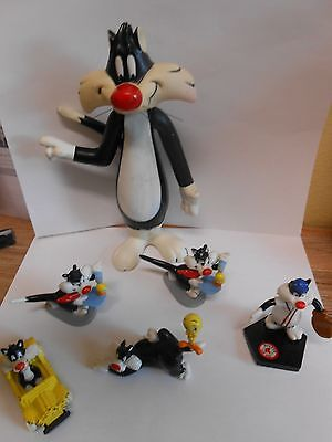 Vintage Looney Tunes Sylvester The Cat Figures