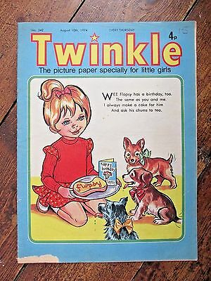 Twinkle Comic.  No.342   August 10Th.  1974.