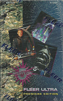 95 Fleer Ultra Premiere Edition BABYLON 5 Factory Sealed Box Trading Cards RARE