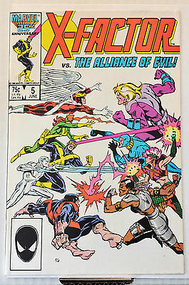 X-Factor #5 (1986) 1st cameo appearance Apocalypse, movie, NM or better range