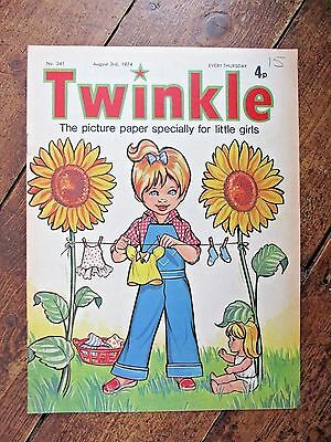 Twinkle Comic.  No.341   August 3Rd.  1974.