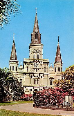 New Orleans LA~St Louis Cathedral In The French Quarters~1960 PC