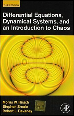 Differential Equations Dynamical Systems And An Introduction To Chaos, 3Rd Edn