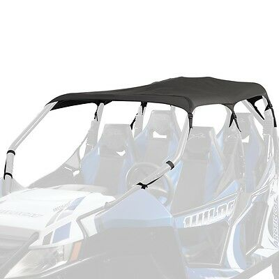 Arctic Cat 2013-2016 Wildcat 4 1000 Bimini Soft Top Roof Canopy Black - 1436-673